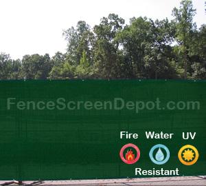 5'x50' Green Windscreen Material 85% Blockage