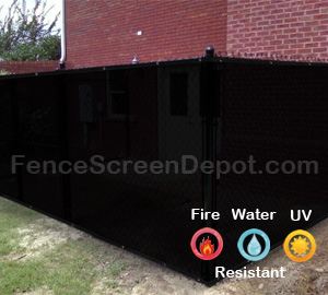 8'x50' Black Mesh Windscreen  85% Blockage