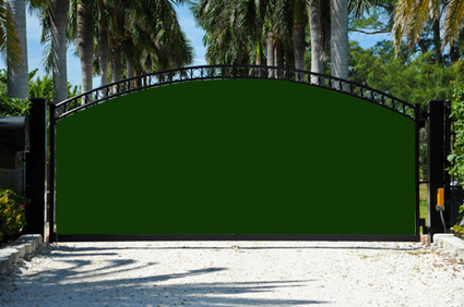 solid pvc vinyl fence screen