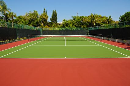 Tennis Court Fence Screen